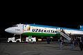 Tupolev Tu-154B Uzbekistan Airways in Tashkent International Airport.jpg