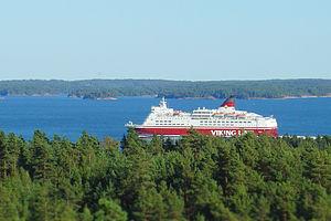 Turku Postcard landscape