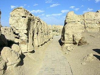 Jiaohe ruins - Jiaohe Ruins