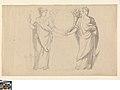 Twee allegorische vrouwefiguren, 1775 - 1830, Groeningemuseum, 0043298000.jpg