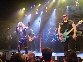 This is a picture of the band Twisted Sister d...
