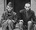 Two survivors of Nordhausen concentration camp