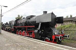 H. Cegielski – Poznań - Cegielski locomotive Ty42 at the Railway Museum, Warsaw