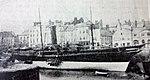 Tynwald berthed at the Coffee Palace Berth, Douglas, Isle of Man..JPG