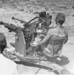 Type 2 20 mm AA machine cannon - Type 2 20 mm Twin AA machine cannon