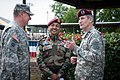 U.S. Army Maj. Gen. John W. Nicholson welcomes Maj. Gen. William G. Beard.jpg