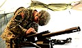 U.S. Army Pfc. Jameson Ward with the Alabama National Guard disassembles a MK19-3 40mm grenade machine gun while competing in the inaugural Gainey Cup at Fort Benning, Ga., March 4, 2013 130304-A-ZZ999-538.jpg