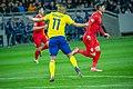 UEFA EURO qualifiers Sweden vs Romaina 20190323 Robin Quaison 30.jpg