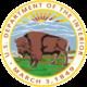 החותם של מחלקת הפנים של ארצות הברית