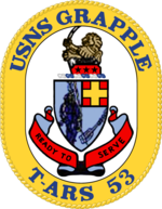 USNS Grapple T-ARS-53 Crest.png