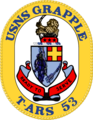 USNS Grapple T-ARS-53 Crest.png