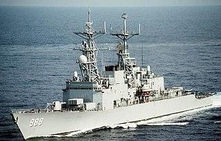 USS <i>Deyo</i> Spruance-class destroyer
