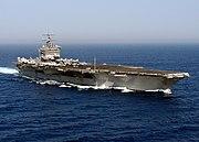 USS Enterprise (CVN-65) underway in the Atlantic Ocean on 14 June 2004 (040614-N-0119G-020)