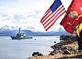 USS Hopper arrives in Homer, Alaska. (34224255602).jpg