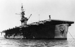 USS <i>Munda</i> Casablanca-class escort carrier of the US Navy