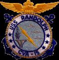 USS Randolph (CVA-15) insignia, 1950s.png