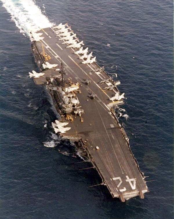 USS Roosevelt CV-42 Med 1976-77