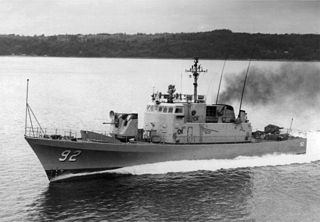 USS <i>Tacoma</i> (PGM-92) American Asheville-class gunboat