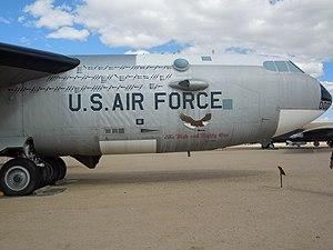 US Air Force aircraft at Pima Air & Space Museum.JPG