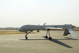 57th Operations Group - A Predator Unmanned Aerial Vehicle of the group while deployed to Afghanistan