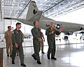 US Navy 090629-N-3013W-041 Cmdr. Anthony Corapi and Cmdr. James R. Debold give Admiral Jonathan W. Greenert, commander U.S. Fleet Forces Command, a tour of Naval Air Station Jacksonville.jpg