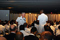 US Navy 090721-N-8390S-047 Chief of Naval Operations (CNO) Adm. Gary Roughead speaks to naval officers during a question and answer session at the National Naval Officers Association.jpg