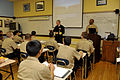 US Navy 101216-N-8273J-056 Chief of Naval Operations (CNO) Adm. Gary Roughead makes a surprise stop in a classroom to talk with students while visi.jpg