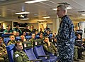 US Navy 110321-N-0000X-027 Adm. Samuel J. Locklear, III speaks with an aircrew team from the French Navy aircraft carrier Charles de Gaulle (R91).jpg
