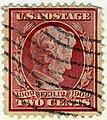 US stamp 1909 2c Lincoln Memorial.jpg