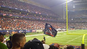 UTSA Roadrunners football - Image: UTSA Inaugural Football Game