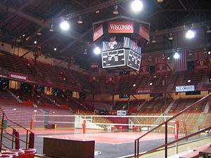 Wisconsin Field House - Image: UW Fieldhouse 2