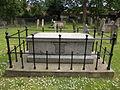 Ugo Foscolo Memorial St Nicholas Churchyard Chiswick from side.JPG