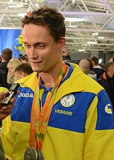 Iaroslav Denysenko Ukrainian Paralympic swimmer