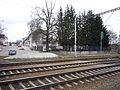 Ulice - Jihlavská 46 Závory zrušeny nahradil je drátěný plot a betonové zábrany.JPG