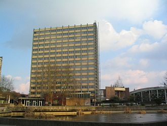 University of Hamburg - Philosopher's Tower, built in 1962