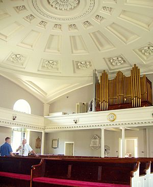 United First Parish Church - Image: United First Parish Church (interior), Quincy, Massachusetts
