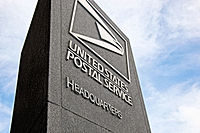 United States Postal Service HQ - LEnfant Plaza West Bldg - Washington DC - signage.JPG