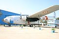Unmarked Fairchild C-119 Boxcar G Indian Air Force ( IK450 ) (8448371232).jpg