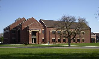 Jamestown, North Dakota - The Unruh and Sheldon Center on the campus of University of Jamestown