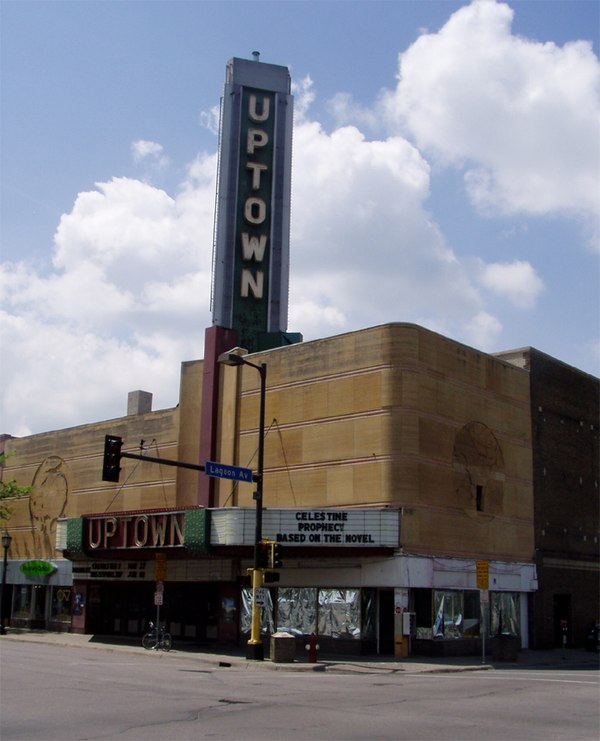 Movie theatre mpls