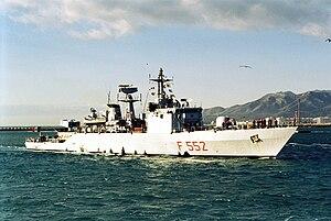 Minerva-class corvette - Image: Urania F552