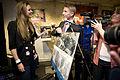 Uruzgan FM - Annemieke Schollaardt verlaat Uruzgan FM.jpg