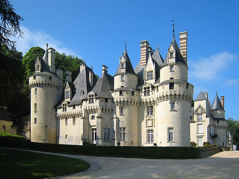Château d'Ussé, eastern aspect