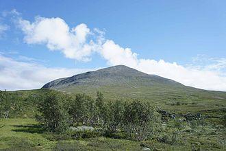 Vålådalen Nature Reserve - Image: Västra Bunnerstöten