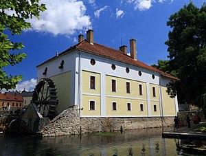 Tapolca - Image: Vízi malom együttes (10455. számú műemlék) 12