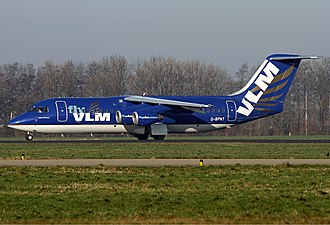 VLM Airlines - VLM BAe 146-300 in former livery