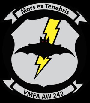 VMFA(AW)-242 - VMFA(AW)-242 insignia