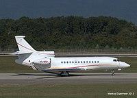VQ-BSP - FA7X - Shell Aircraft