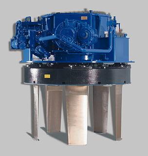 Voith Schneider Propeller Proprietary marine propulsion system