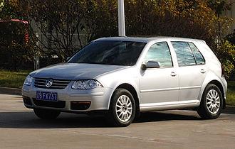 Volkswagen Bora (China) - Volkswagen Bora HS front